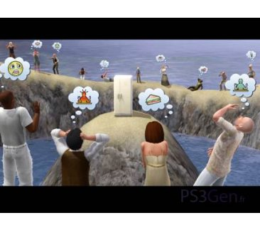Sims 3 Xbox 360 Wii Nintendo DS PS3 (2)