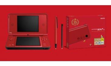 Nintendo DSi XL rouge spécial Mario 25 ans (2)