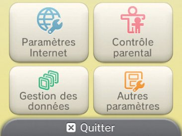 Parametre internet connexion wifi tuto nintendo 3ds (3)