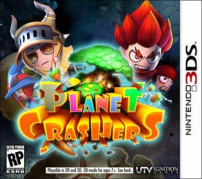 Planet Crashers 3D jaquette