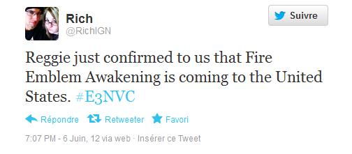 Tweet confirmation localisation FEA