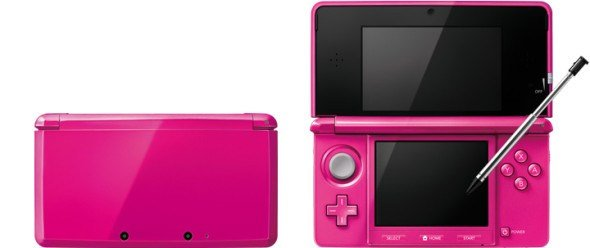 3DS Gloss Pink nintendo_3ds_gloss_pink