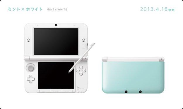 3DS XL Vert Menthe nintendo_3ds_ll_mint