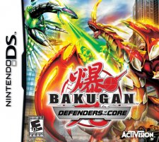 bakugan defenders of the core ds jaquette
