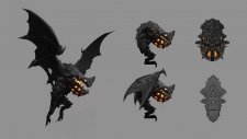 Castlevania: Lords of Shadow - Mirror of Fate Gargoyle_Blueprints