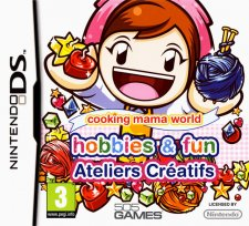 cooking mama hobbies and fun ds jaquette