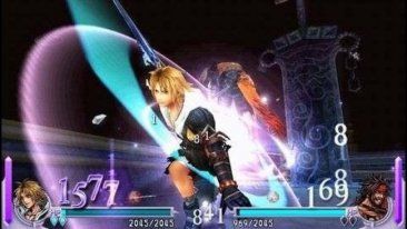 Dissidia Final Fantasy screenshots images