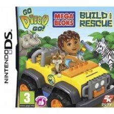 go diego mega bloks build rescue ds