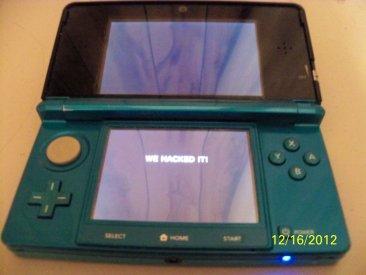 Hack Nintendo 3DS 17.12.2012.