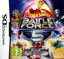 hot wheels battle force 5 ds jaquette
