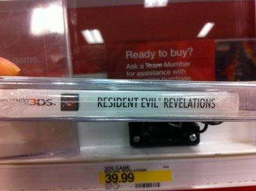 Jaquette Resident Evil Revelations sans erreur