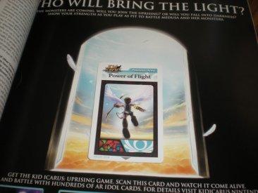 Kid Icarus Uprising AR card