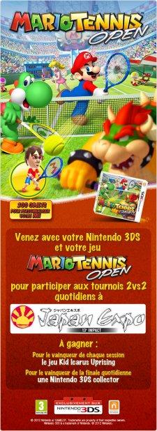 Mario tennis concours Nintendo 3DS Japan expo 02.07.2012
