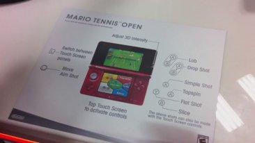 Mario Tennis Open commande