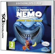 Le Monde De Nemo : Course Vers L'océan jaquette jaquette nemo DS