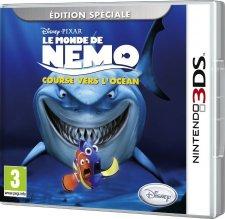 Le Monde De Nemo : Course Vers L'océan jaquette nemo 3DS