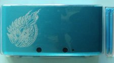 Monster Hunter 3 Ultimate coque bleue
