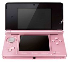 Console Nintendo Ds Rose Corail Pack Nintendogs Cats