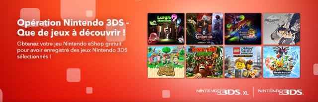 Nintendo offre 3DS