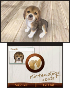 Nintendogs+cats 3DS screenshots captures 01