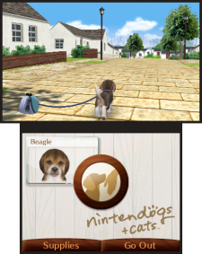 Nintendogs+cats 3DS screenshots captures 02