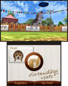 Nintendogs+cats 3DS screenshots captures 04
