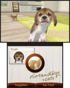 Nintendogs+cats 3DS screenshots captures 06