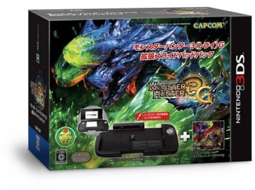 Pack Monster Hunter et Slide Pad