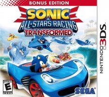 Sonic & All Stars Racing Transformed Edition Limitée jaquette sonic us