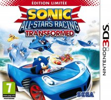 Sonic & All Stars Racing Transformed Edition Limitée jaquette sonic