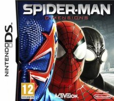 spider man dimensions ds jaquette