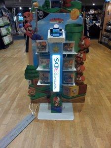 stand PLV 3DS Mario super3Dland cultura