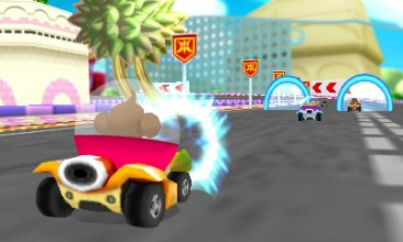 Super Mmonkey ball 3DS Screenshots captures 02