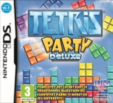 tetris party deluxe ds jaquette