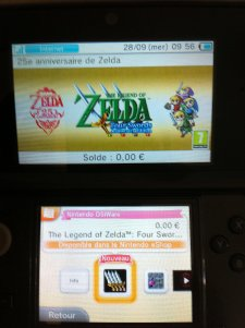The legend Of Zelda Four sword Anniversary Edition nintendo eshop dsiware gratuit (4)